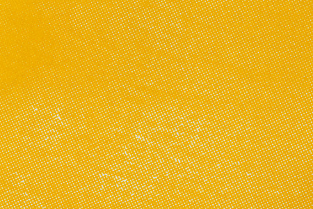 Close up yellow color off set printing paper texture