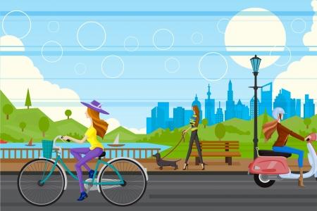 Illustration pour Urban City - image libre de droit