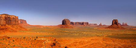 Desert landscape in the Arizona