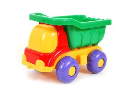 Foto de Colorful toy truck - Imagen libre de derechos