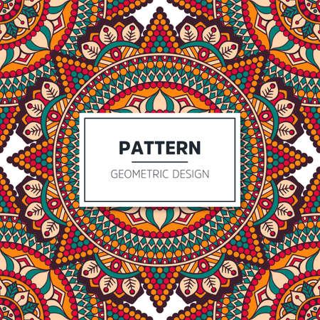 Illustration pour luxury ornamental mandala design background - image libre de droit