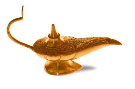 Genies oil lamp