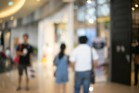store blur background with bokeh