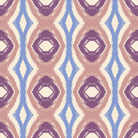 Purple and Blue Vintage Line Pattern
