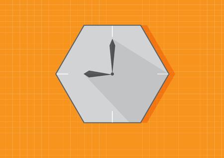 clock design 9.00 pm