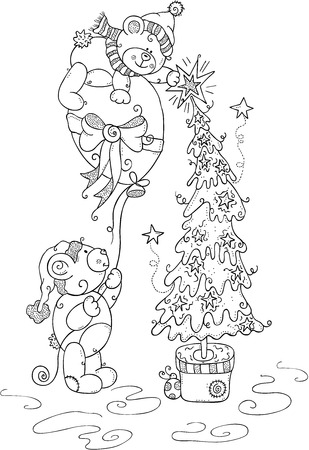 Free Printable Teddy Bear Coloring Pages For Kids | 450x309