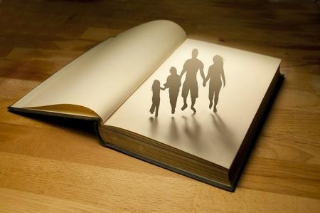 Family Book Story  Conceptual