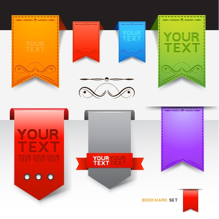 A Collection of bookmarks designs