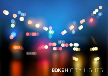 Bokeh City Traffic