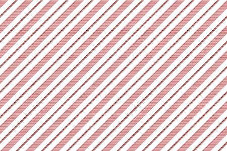 Illustration pour Red white striped texture seamless pattern. Vector illustration. - image libre de droit
