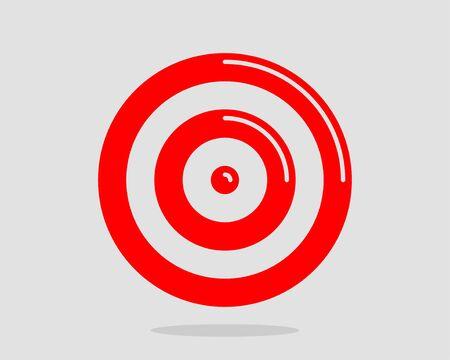 Illustration pour Target icon vector - image libre de droit
