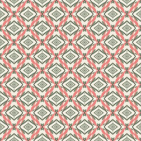 Illustration pour Seamless pattern geometric. Colorful abstract background. Vector design. Modern style. - image libre de droit