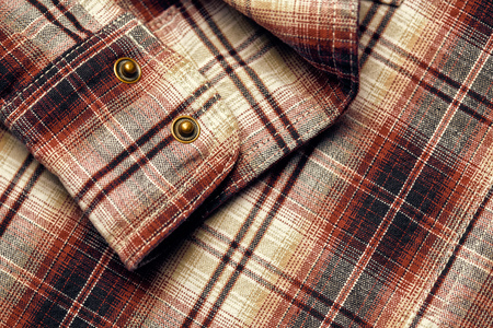 Photo pour checkered fabric close up for texture or background - image libre de droit