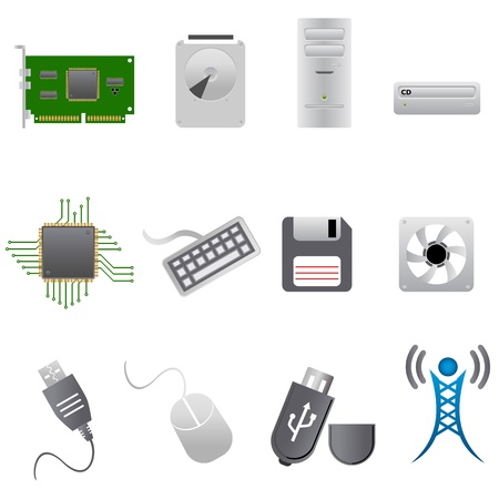 Computer parts, hardware and peripherals