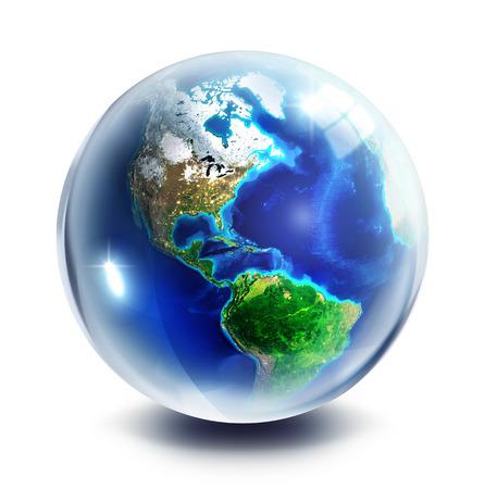 drop globe - Usa