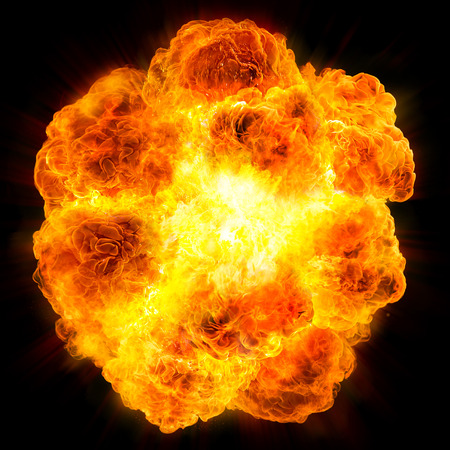 Photo for fireball: explosion - Royalty Free Image