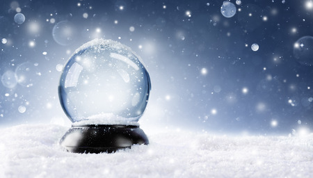 Photo pour Snow Globe - Christmas Magic Ball - image libre de droit