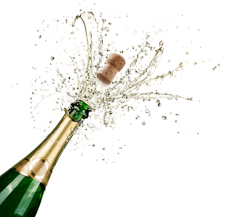 Photo for Celebration With Splashes Of Champagne - Royalty Free Image