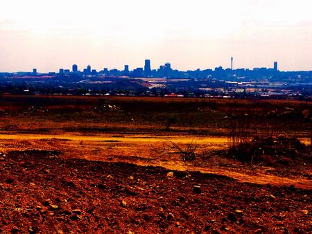Johannesburg cityscape skyline
