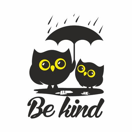 Owls. Be kind
