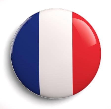 French flag icon on white.