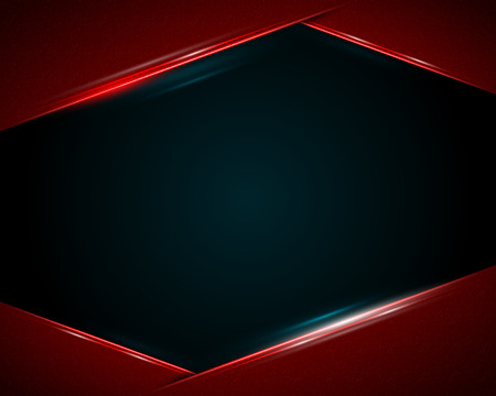 Modern dark background. Vector illustration.