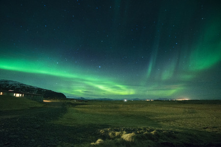Northern lights in Iceland
