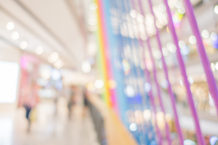 Blur photo.office or department store or shopping mall for background.