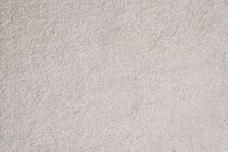 Photo pour Smooth seamless texture of a terry towel. White color - image libre de droit