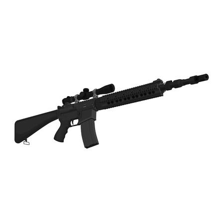 mk12mod1 Special Purpose Rifle