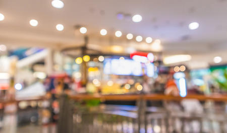 Bokeh and blurred Shopping Mall, Backgrounds