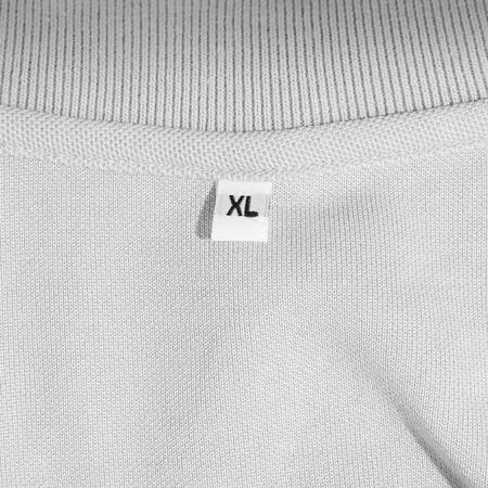 XL size clothing label