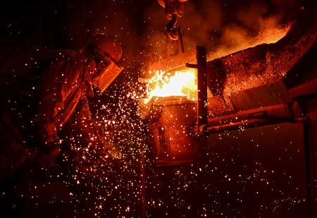 Steel Factory, Melting Iron