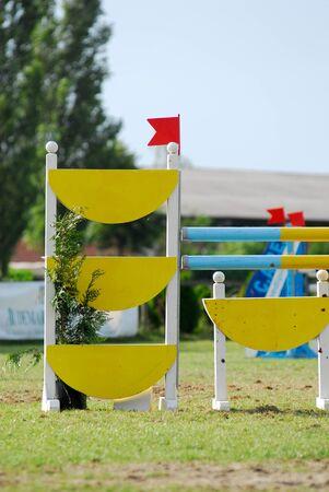 Foto per salto ostacoli - Immagine Royalty Free