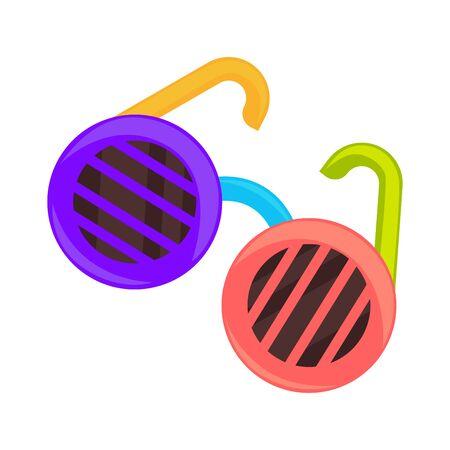 Colorful shutter glasses