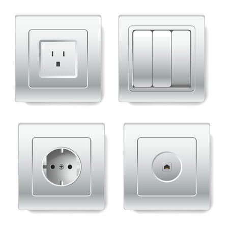 Sockets with different number of slots types depending on standards