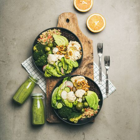 Photo for Healthy dinner, lunch setting. - Royalty Free Image