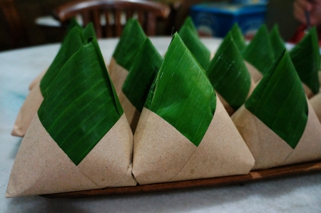 delicious nasi lemak packaging
