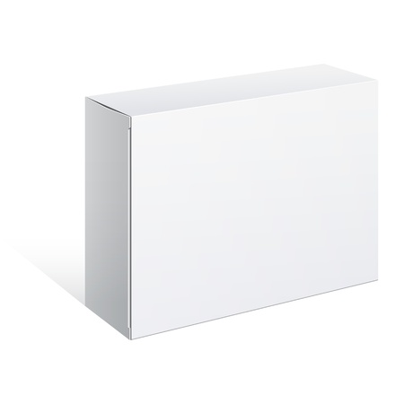 White Package Box  For Software, electronic device