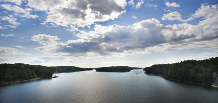 Skerry coastline in Finland