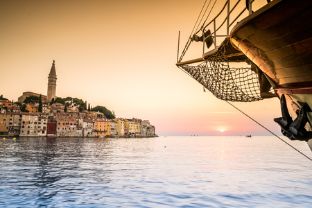 Rovinj as beautiful summer destination, Croatia, Europe