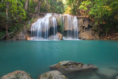 Waterfall deep forest at Era