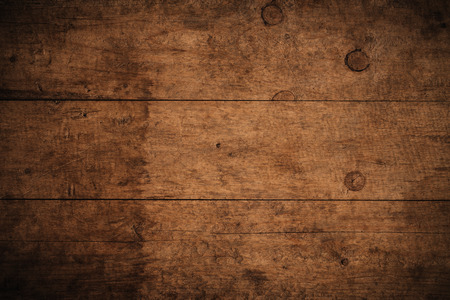 Photo for Old grunge dark textured wooden background,The surface of the old brown wood texture,top view brown wood paneling - Royalty Free Image