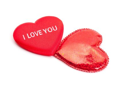 To red hearts for Valentine's day