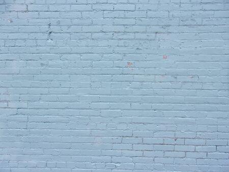 Photo pour Blue brick wall on inner city building 3 - image libre de droit