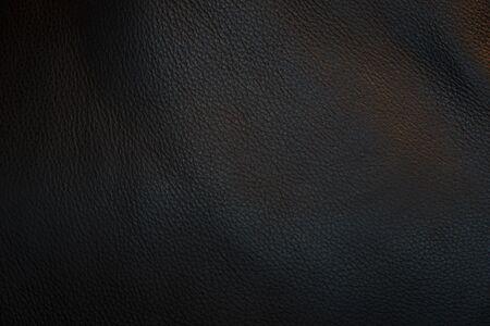 Photo pour Black leather and texture background. - image libre de droit