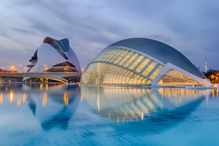 The City of Arts and Sciences is an entertainment-based cultural and architectural complex in the city of Valencia, Spain  It is the most important modern tourist destination in the city of Valencia