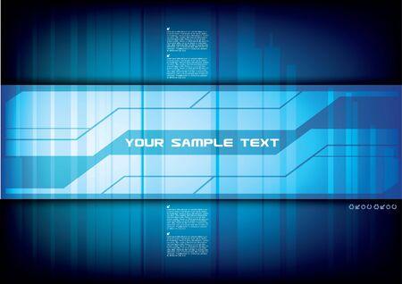 Illustration pour abstract technical background  - image libre de droit