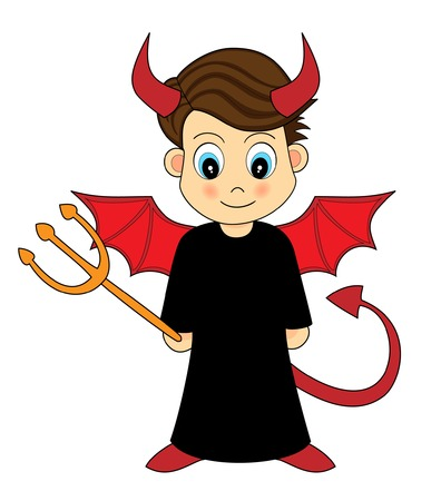 Cute Devil Boy