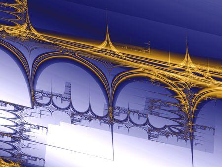 Bridge project draft, computer-generated image